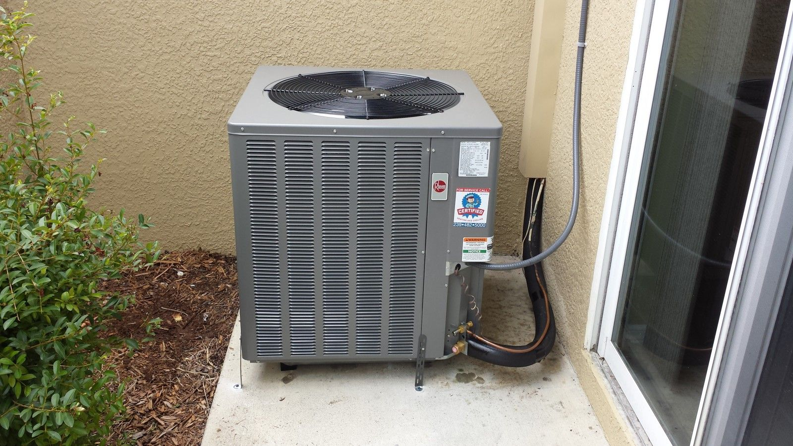 Another satisfied client with a new air conditioner