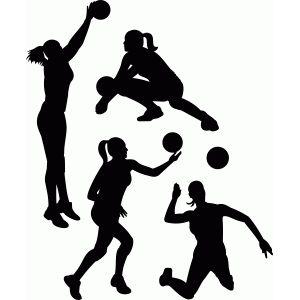 Silhouette Design Store Browse My Designs Silhouette Design Volleyball Designs Volleyball Silhouette