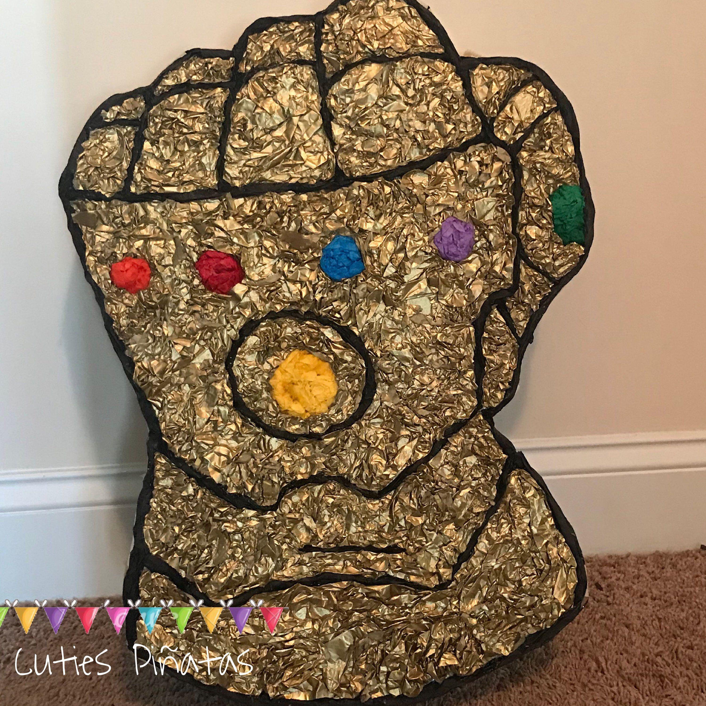 Thanos Gauntlet Pinata Thanos Birthday Party Avengers