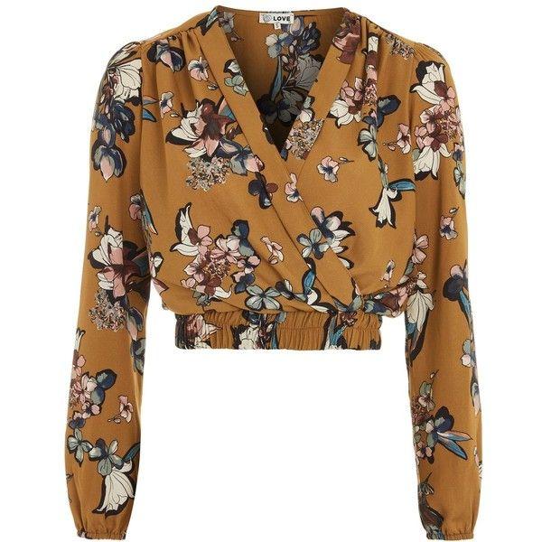 Blouses & Shirts 2018 V Neck Flower Print Lacing Up Waist Kimono Shirt Holiday New Women Laminated Lantern Sleeve Beach Bow Tie Short Blouse Tops