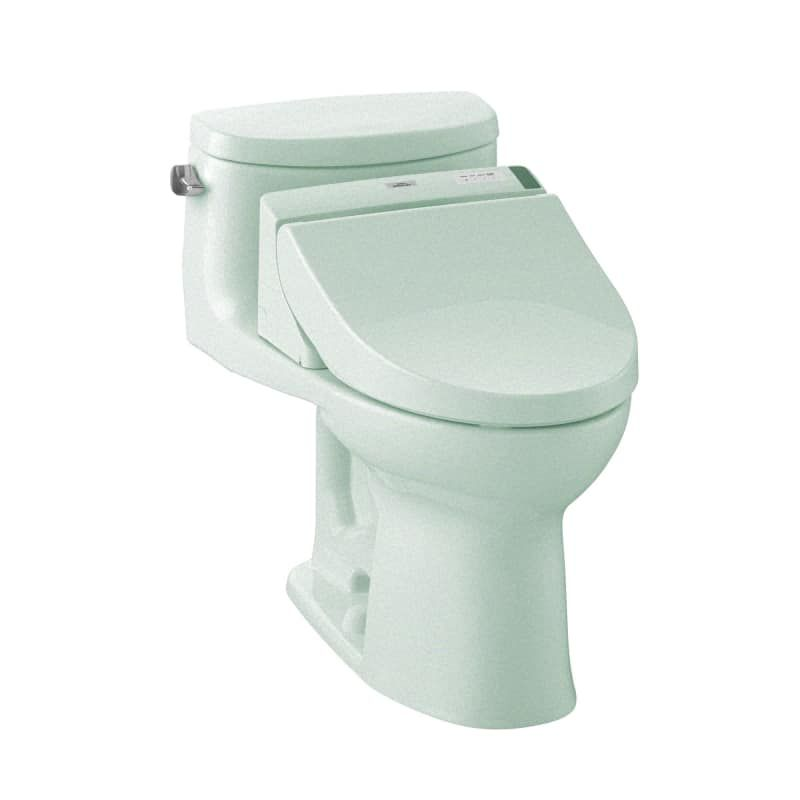 Toto Mw6342044cefg 01 Cotton Supreme Ii 1 28 Gpf One Piece Elongated Toilet Seat Included Elongated Toilet Seat Toilet Seat Bidet Seat
