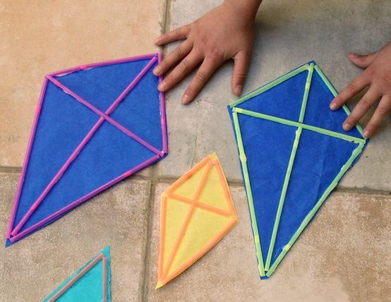 Kites Craft With Straws Easy Will We Ever Have A Nice Sunny Day To
