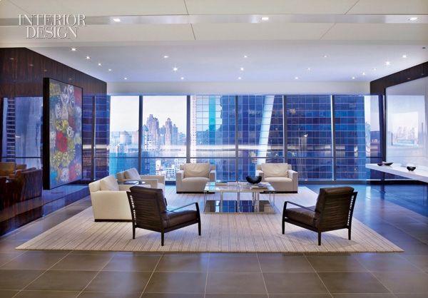 Proskauer, NYC Office Lounge Gensler