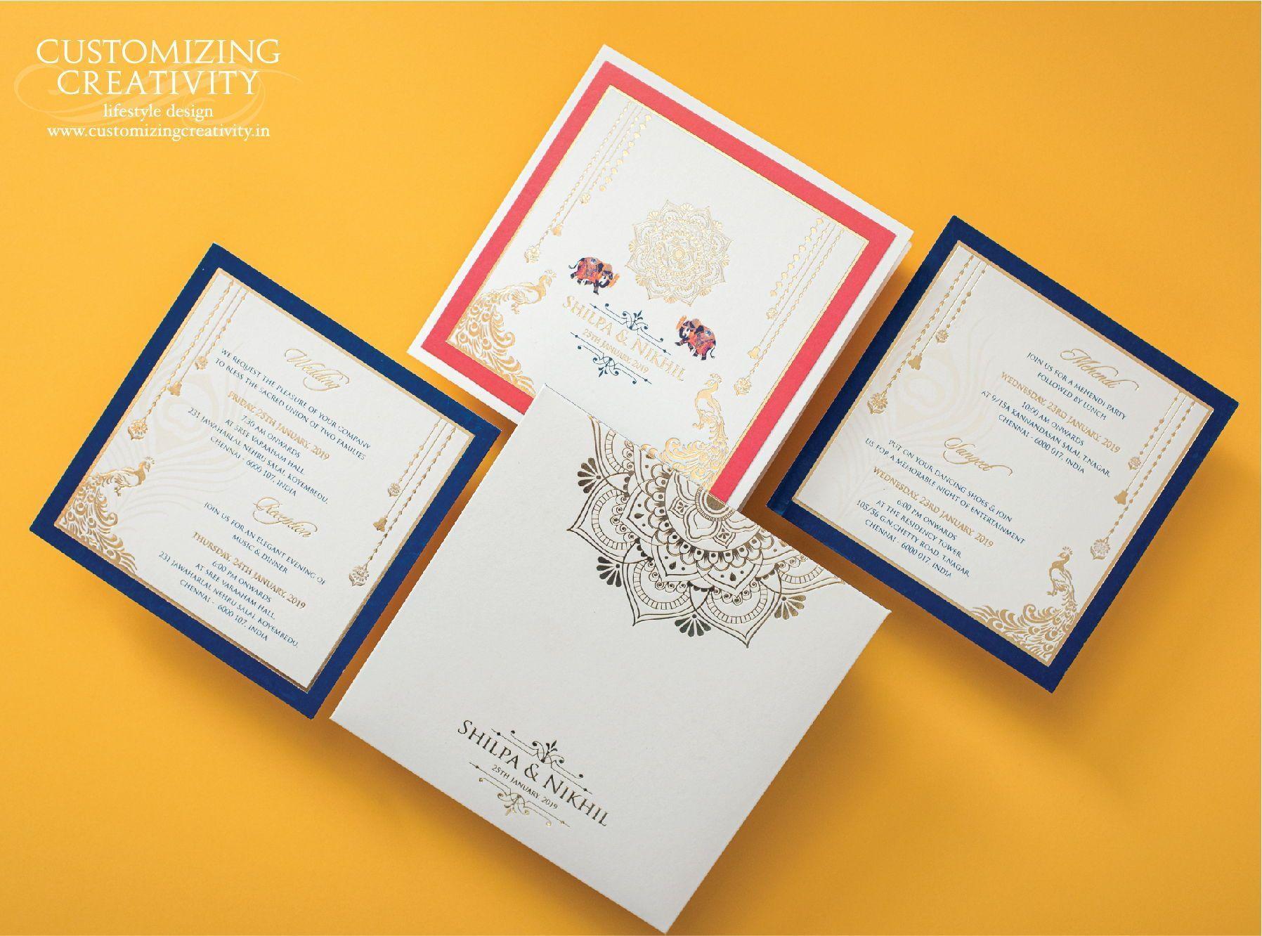Wedding invitation cards Indian wedding cards invites Wedding Stationery Ei Wedding invitation cards Indian wedding cards invites Wedding Stationery Ei Wedding invitation...