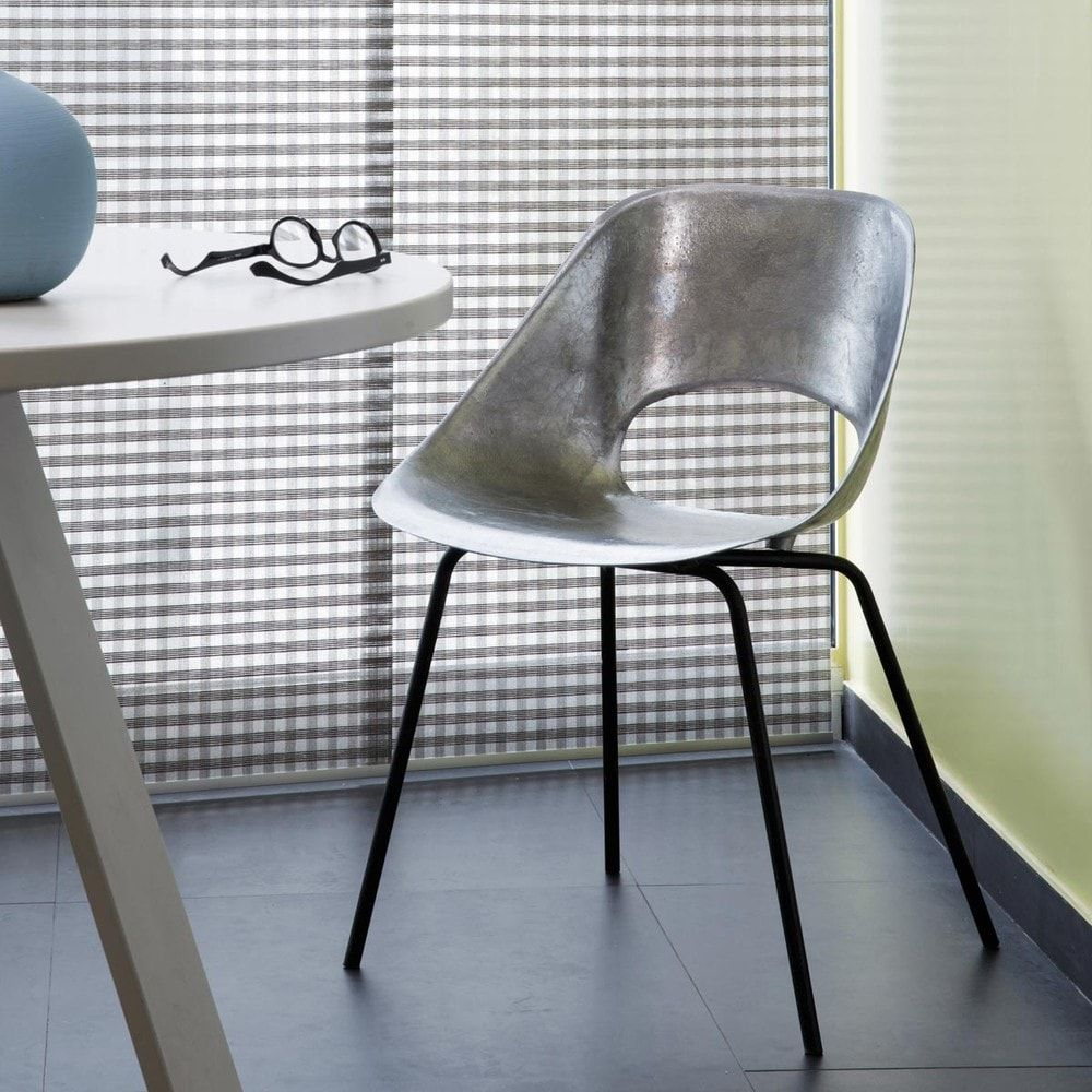 chaise guariche en aluminum et métal tulipe | maisons du monde ... - Chaise Tulipe Maison Du Monde