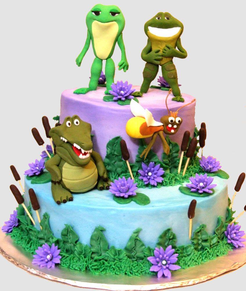 Megzcakesca princess and the frog birthday cakes cakepins