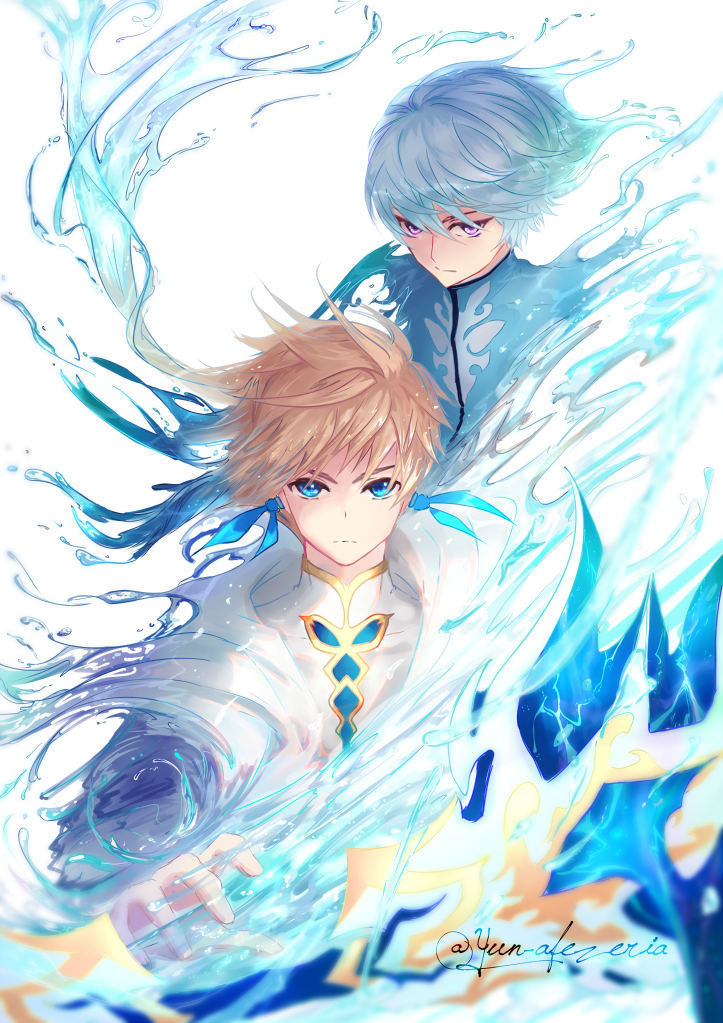 Tales of Zestiria : Sorey and Mikleo by Yun-Afezeria on DeviantArt