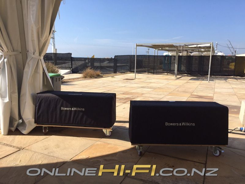 The bowers wilkins soundsystem has arrived at the primavera