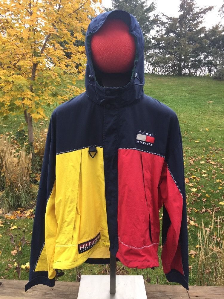 Tommy Hilfiger Nylon Sailing Jacket Sj22