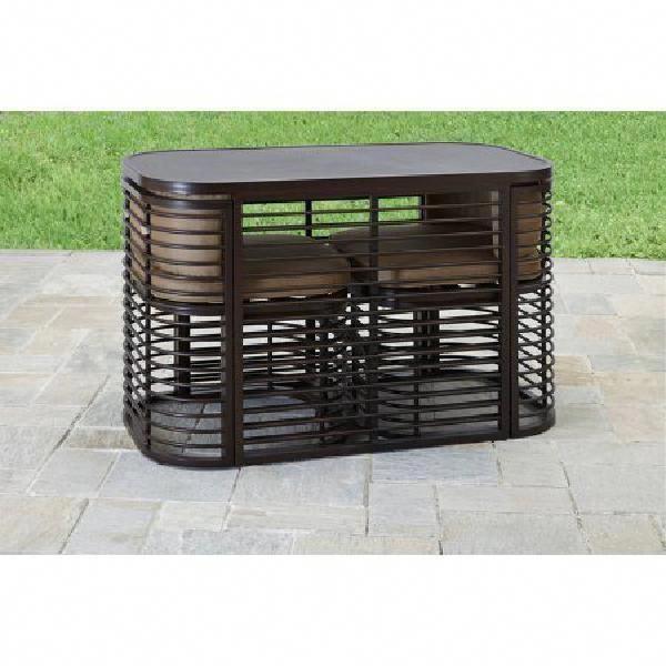 3-Piece Outdoor Bistro Bar Dining Set With 2 Seats Garden Patio