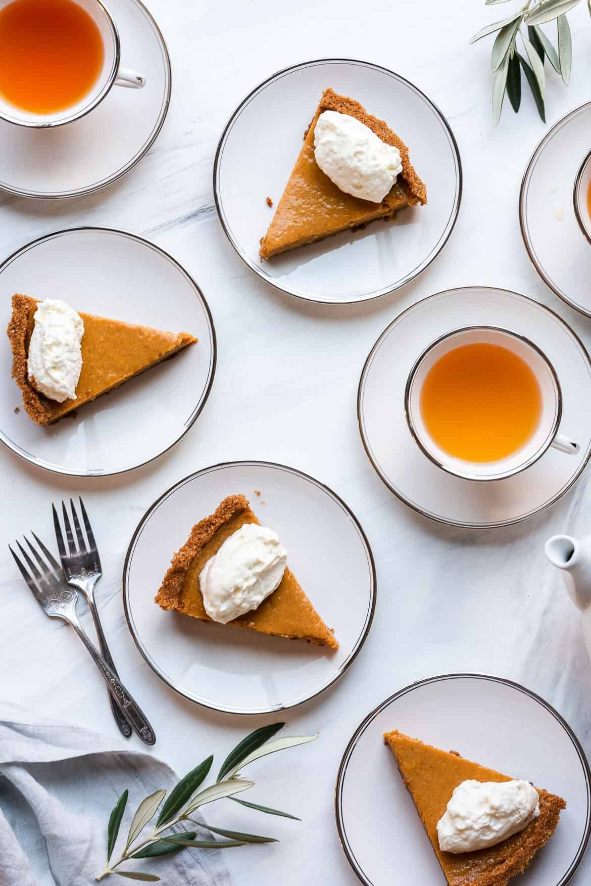 Cassava Pumpkin Pie #homemadegrahamcrackercrust