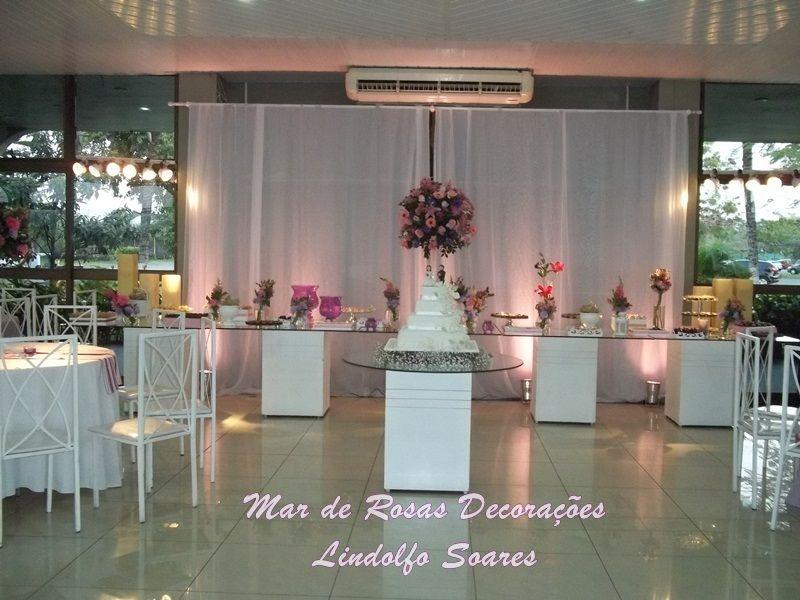 Mar de Rosas Decorações Lindolfo Soares: Salão Clube da Aeronáutica/ Barra da Tijuca