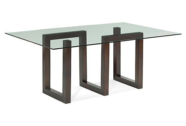 Serpent Rectangular Dining Table, Java on OneKingsLane.com