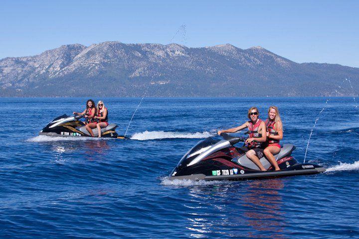 Jet ski on lake tahoe with images oregon road trip