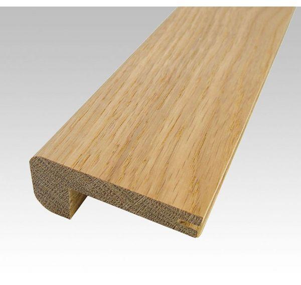 Flooring Accessories Solid Wood Trims Solid Oak Stair Nosing 9mm