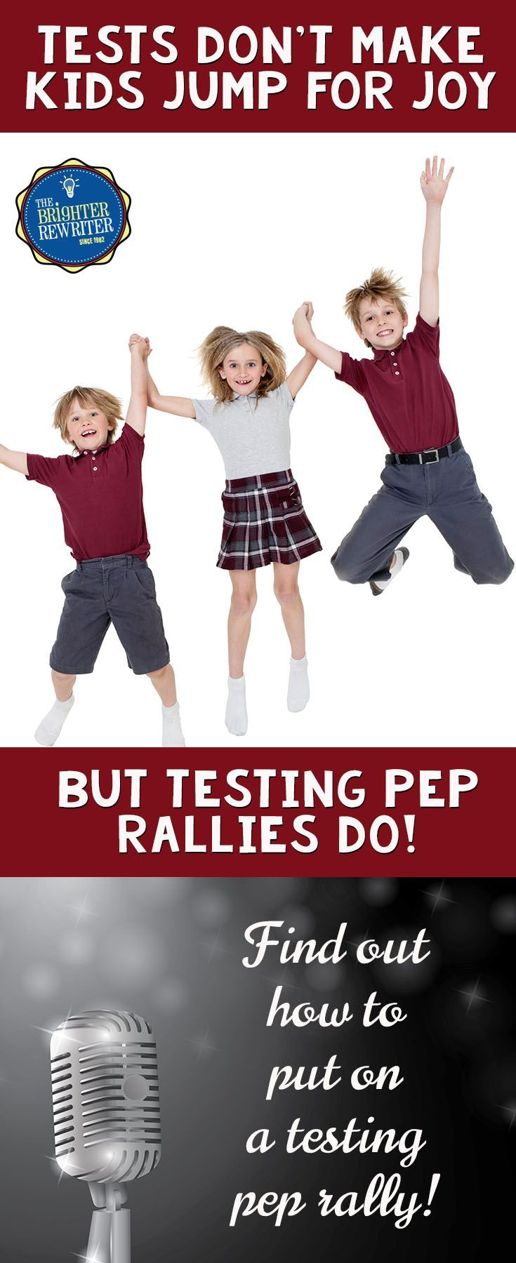 Put on a testing pep rally using these ideas and have a