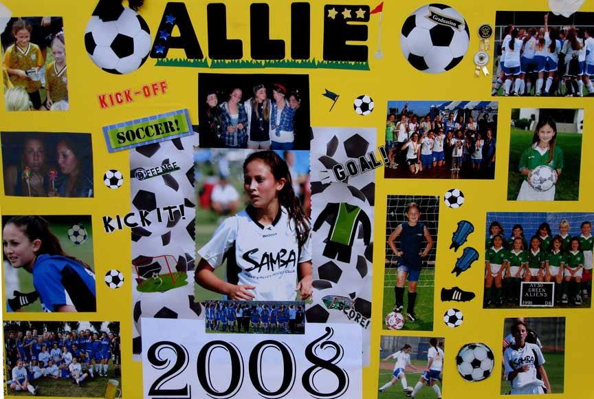 senior soccer posters - Google Search