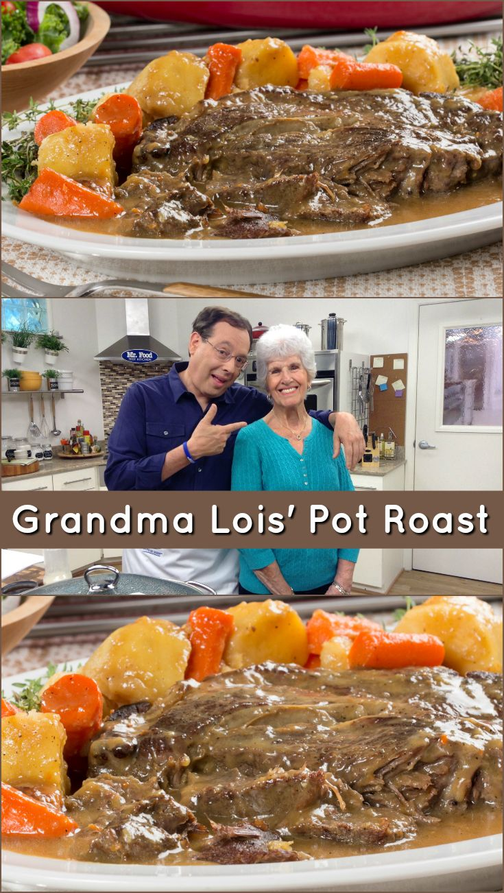 Grandma lois pot roast pot roast recipes pot roast and dinners grandma lois shared her pot roast recipe with us and we think youre going forumfinder Choice Image
