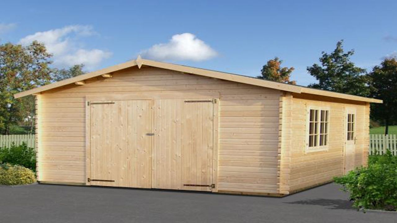 Log Cabin With Garage Apartment Plans Cabins