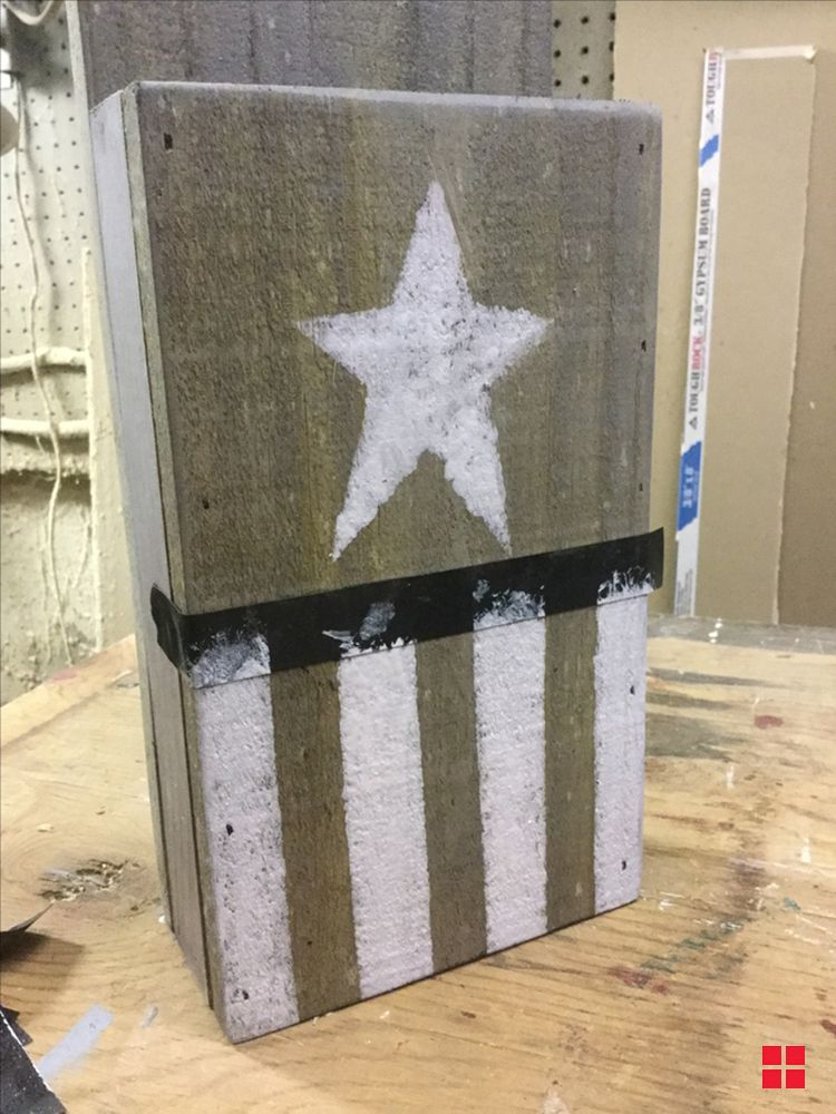 Diy memorial day wood planter follow the star pinterest diy memorial day wood planter solutioingenieria Images