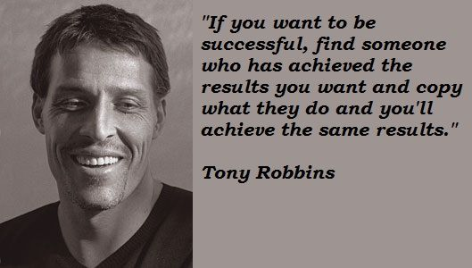 anthony robbins in italiano