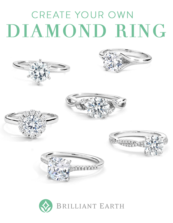 Create Your Own Diamond Ring Select Your Ideal Ring Setting And Pair It With An Exceptional Beyond Confl Dream Engagement Rings Engagement Rings Wedding Rings