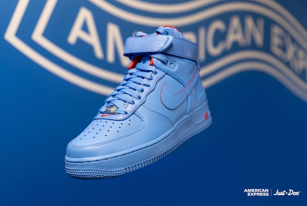 Don C Talks Af1 Hi Just Don Collab With American Express More Nike Air Force Air Force 1 High Nike Air