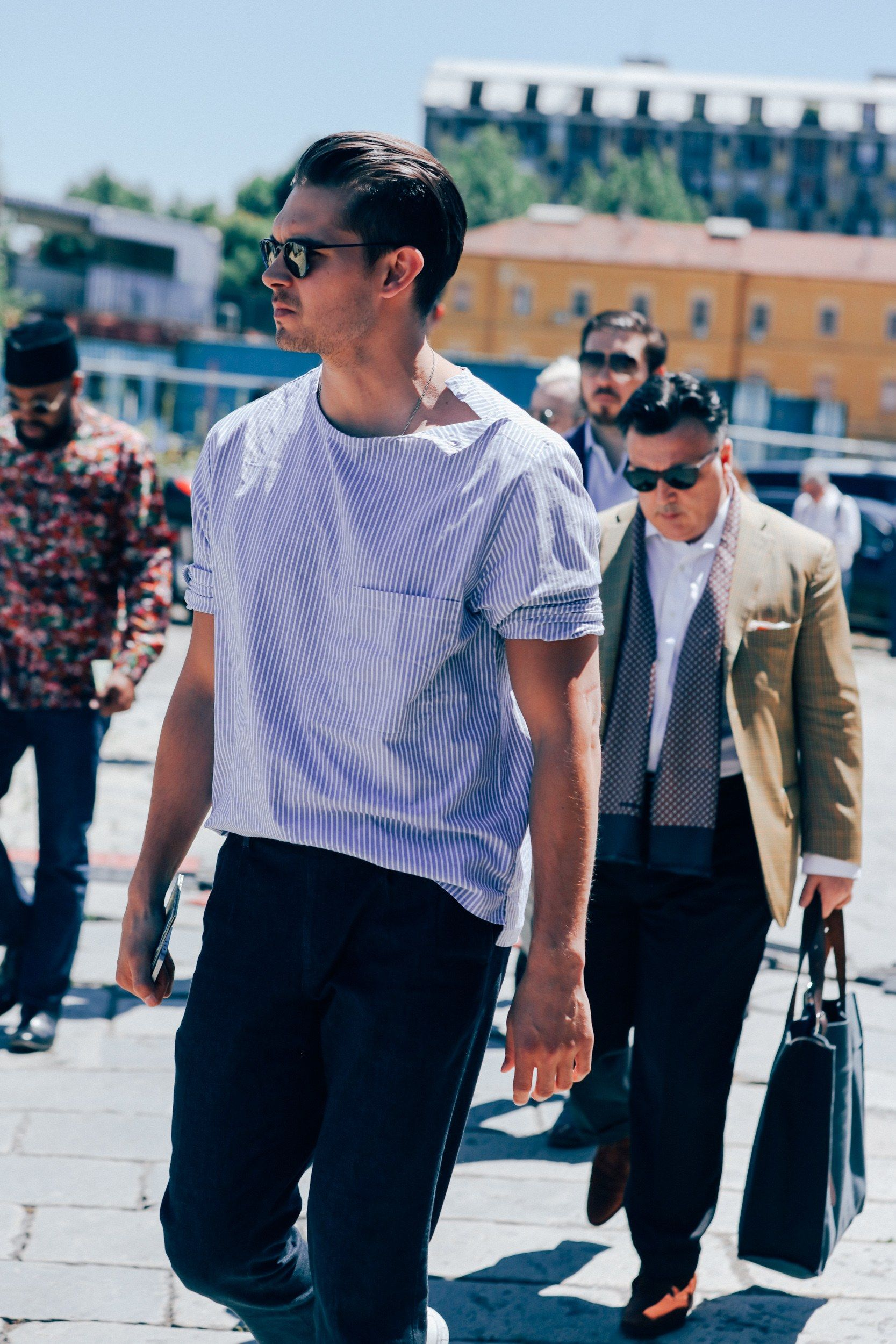 The Best Street Style From Milan Fashion Week 39 S Menswear Shows Milan Fashion Milan Fashion