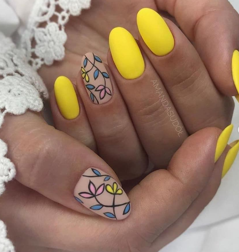 64 Chic Natural Almond Acrylic Nails Shape Design You Won't Resist This Spring – Nails Design