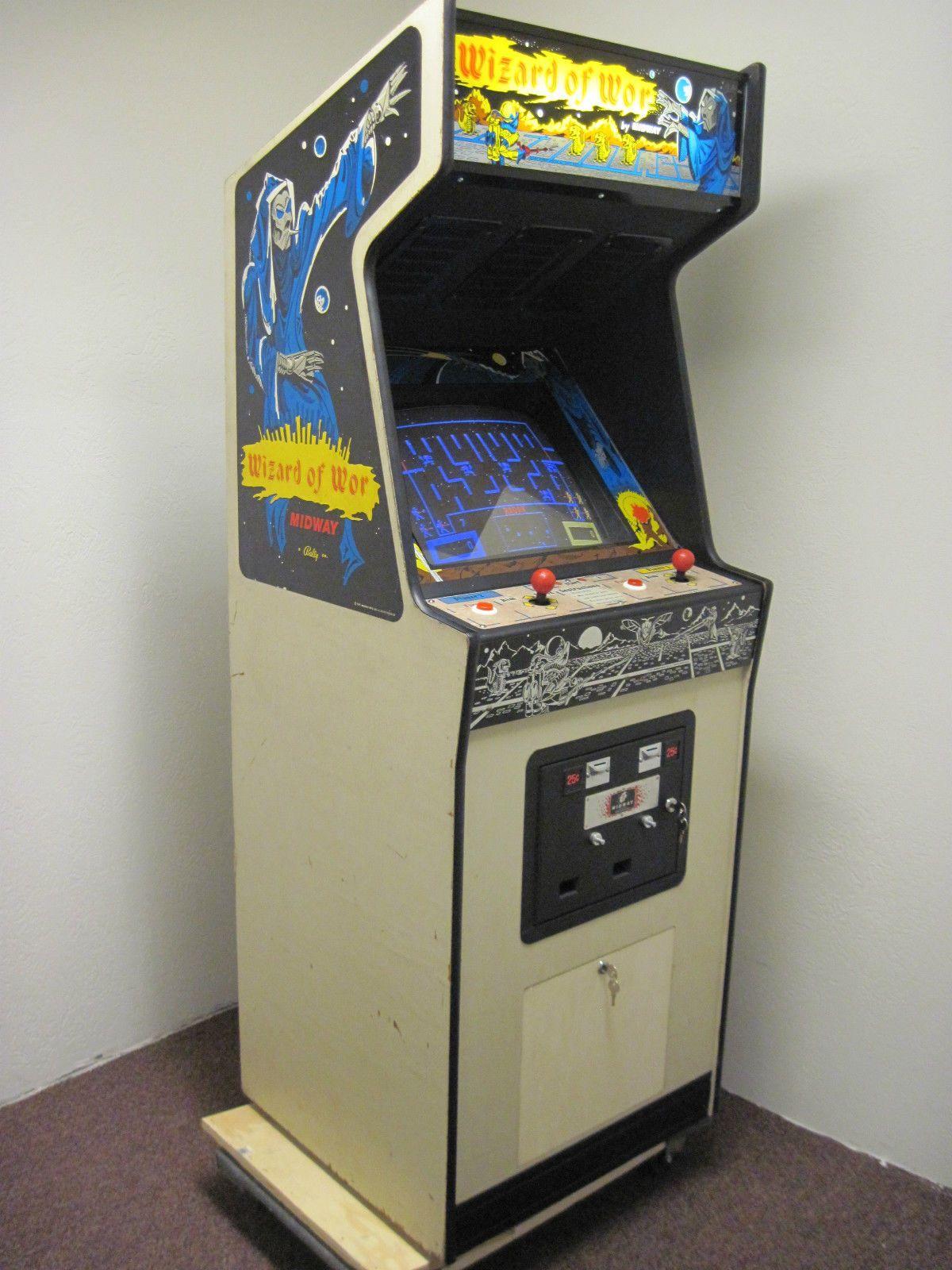 Wizard Of Wor Classic Arcade Game Arcade Games Arcade Vintage Video Games