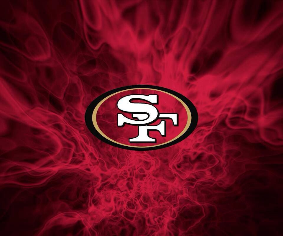 Sf 49ers On Fire Sf 49ers Logos 49ers Fans Sports