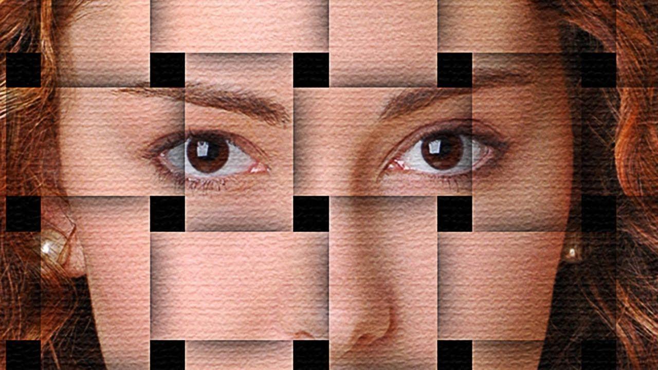 Resultado de imagen para photoshop puzzle face effect