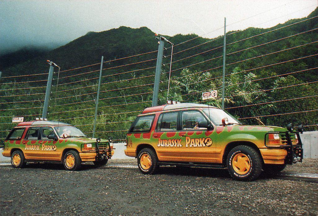 Jurassic Park 05 Ford Explorer Tour Vehicle Jurassic