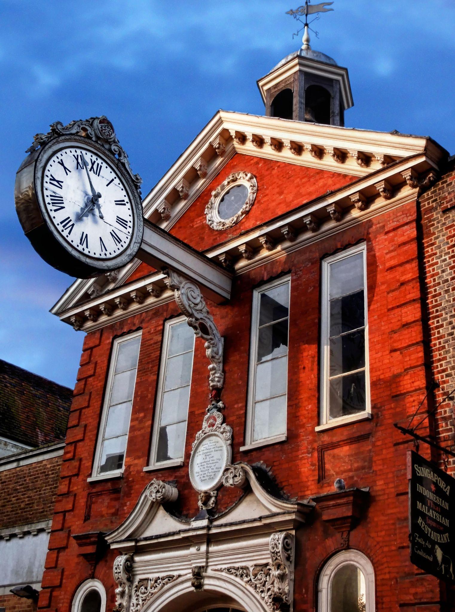 The Old Corn Exchange Rochester Kent England Outdoor Clock Clock Cool Clocks