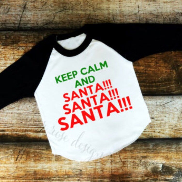 Christmas raglans in stock today!! @riverrose_designco  #christmas #christmasparty #christmasgift #holidays #keepcalm #santa #riverrosedesignco