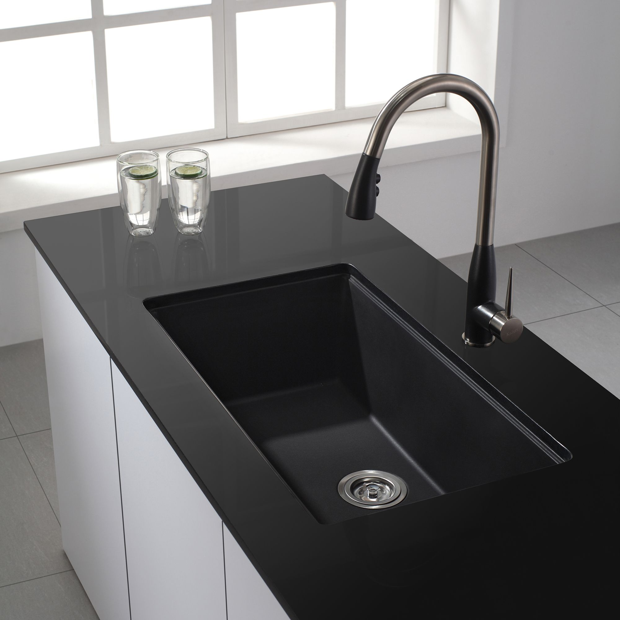 Art Of Arch Single Basin Kitchen Sink Granite Kitchen Sinks Kitchen Sink Install