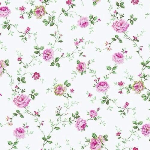 Roses Small Floral Trail Wallpaper By York