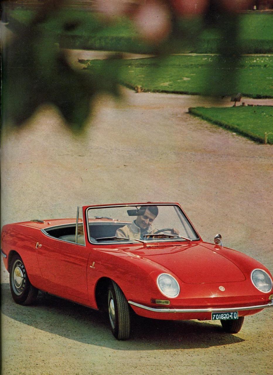 1967 Fiat 850 Spider Fiat 850 Fiat Spider Cars