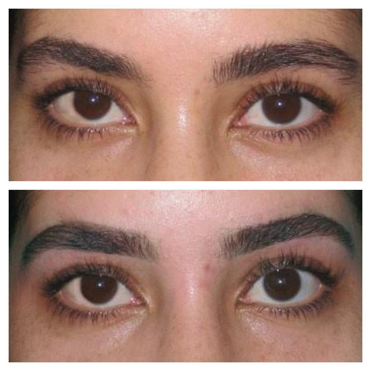 Before After Eyebrow Threading Eyebrow Threading Threading