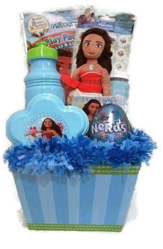 Disney moana easter basket or gift basket for girls 10 pcs age 5 disney moana easter basket or gift basket for girls 10 pcs age 5 to negle Gallery