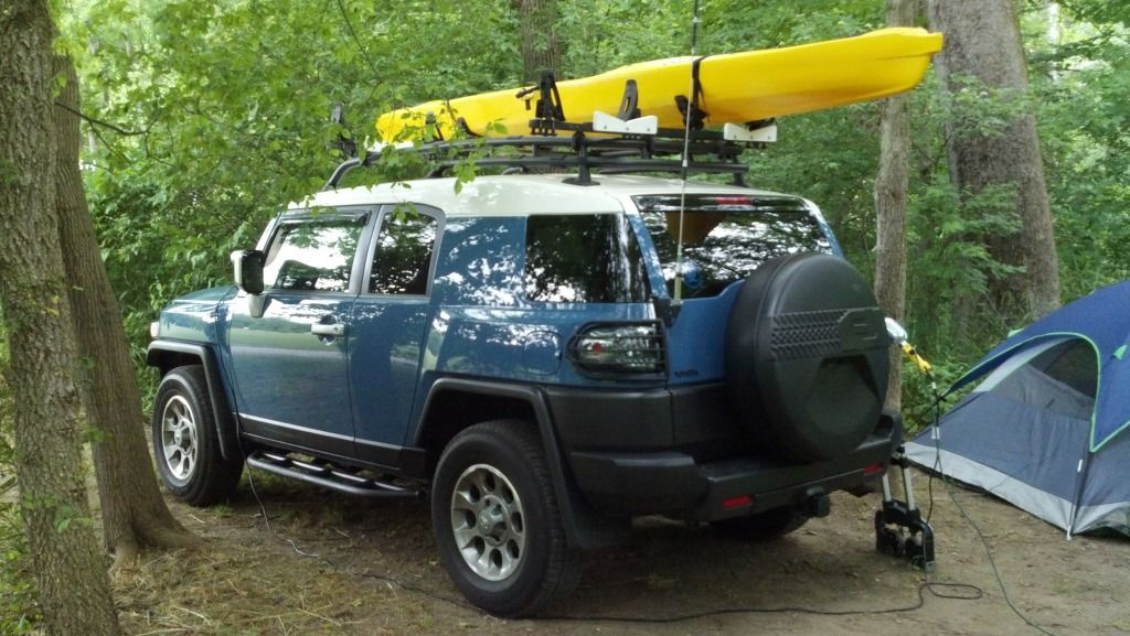 Kayak Roof Rack System Page 4 Toyota Fj Cruiser Forum