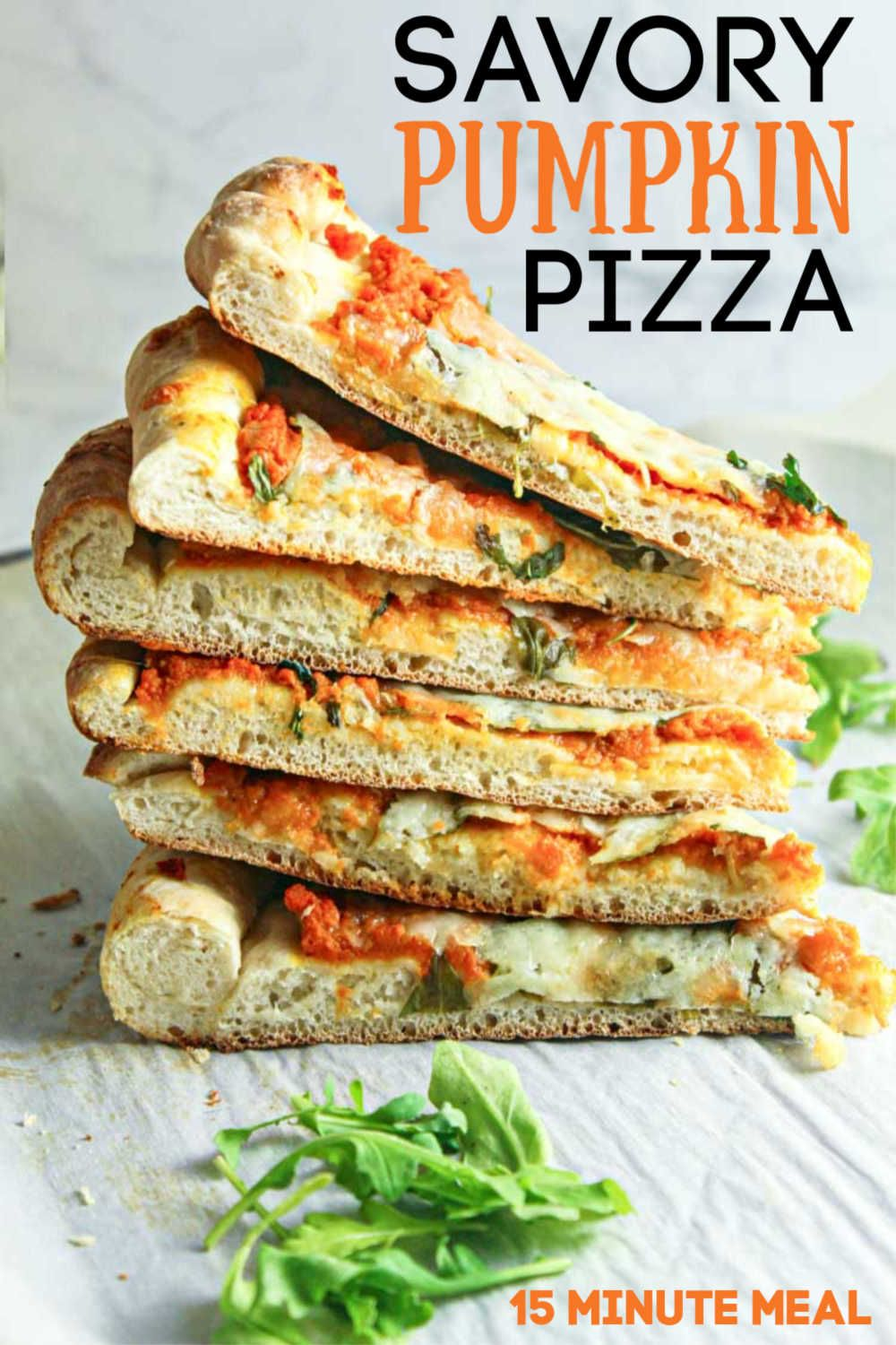 Savory Pumpkin Pizza Savory Pumpkin Pizza is the perfect homemade recipe for those cool autumn evenings when you dont want to eat out Baked in 15 minutes this grownup fla...