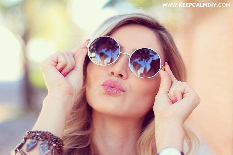 oculos-redondo-jessica-look-dia   Glasses sunGlasses   Óculos ... eef7bdc21a