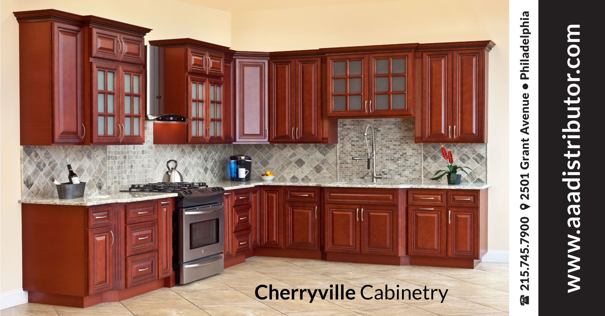 Fully Upgraded All Wood Construction Cherry Stained Maple Classic Kitchen Ready To Assemble Kitchen Colour Schemes Kitchen Cabinets Kitchen
