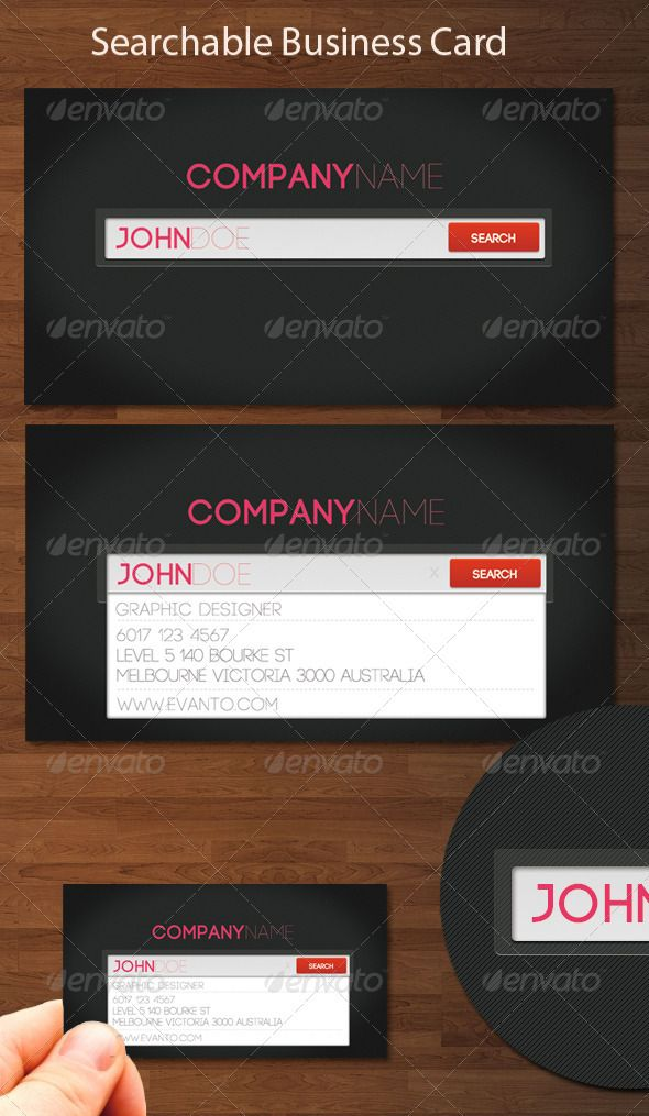 Searchable Business Card