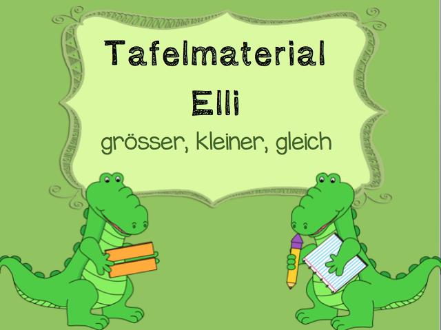 Grösser - kleiner - gleich | iskola | Teaching first grade ...