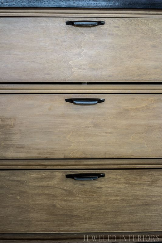 Check Out This Before And After Two Toned Dresser Make Over Step By