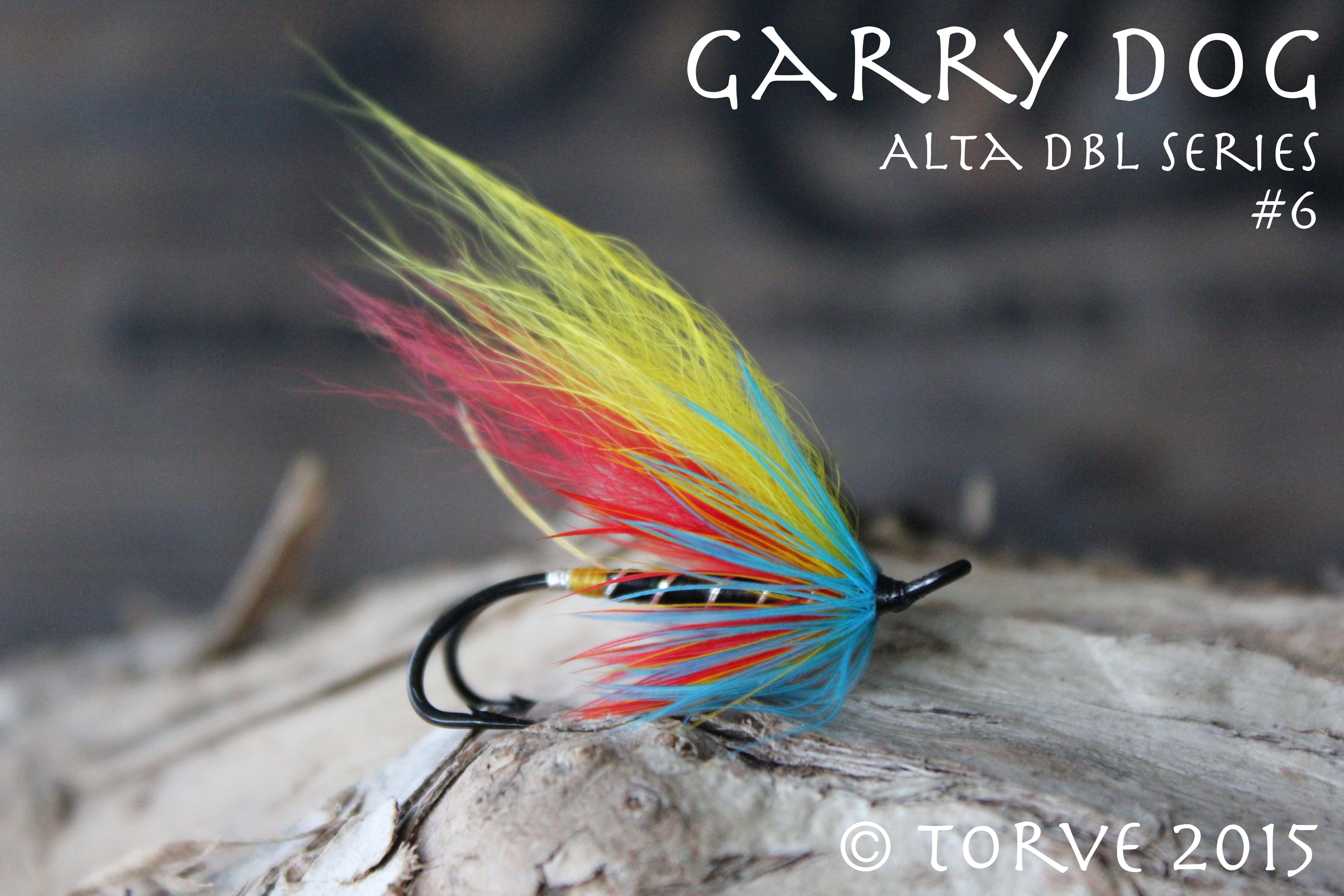Garry Dog Variant Slamon Hook Flies Series Tied By Torve The