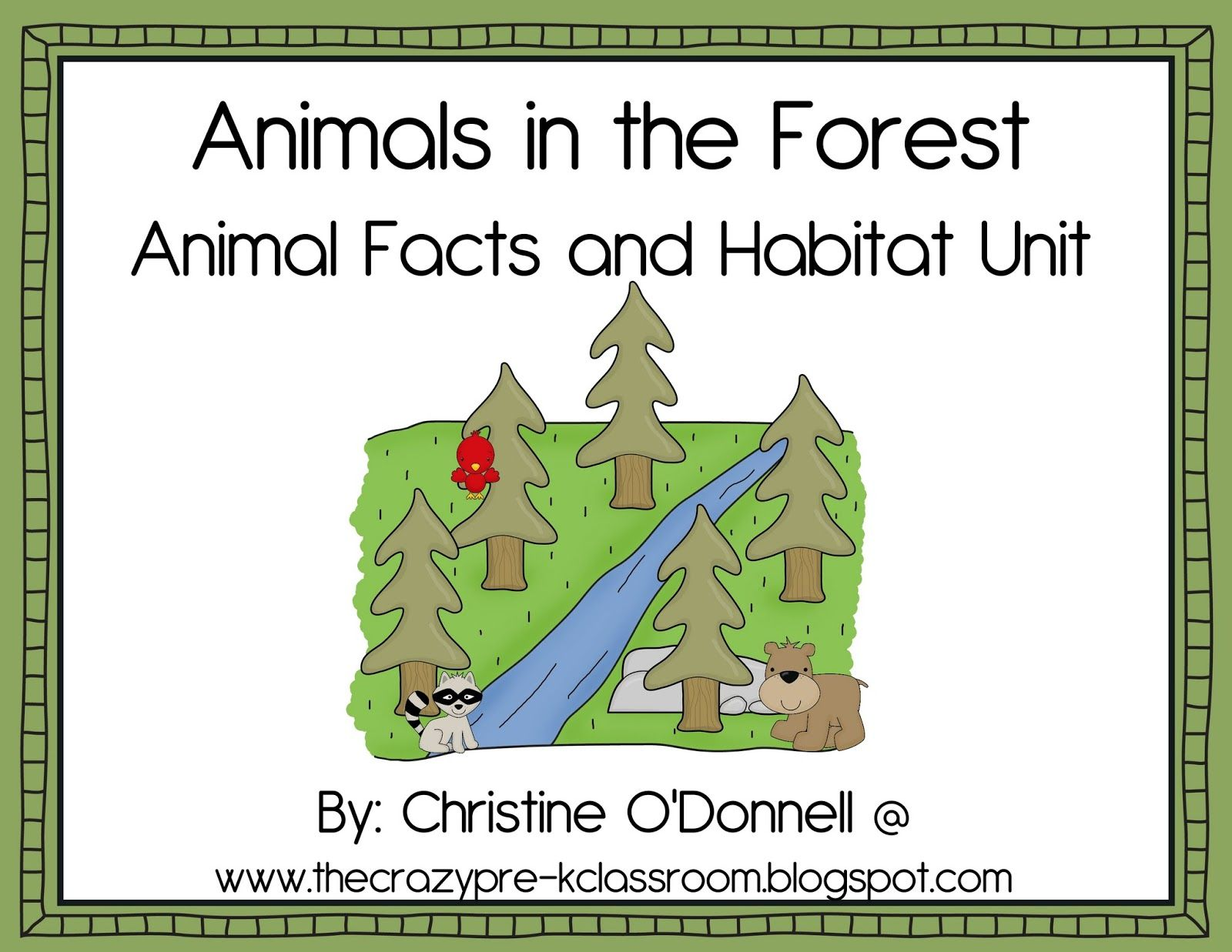 Kindergarten Forest Animal Art Activities