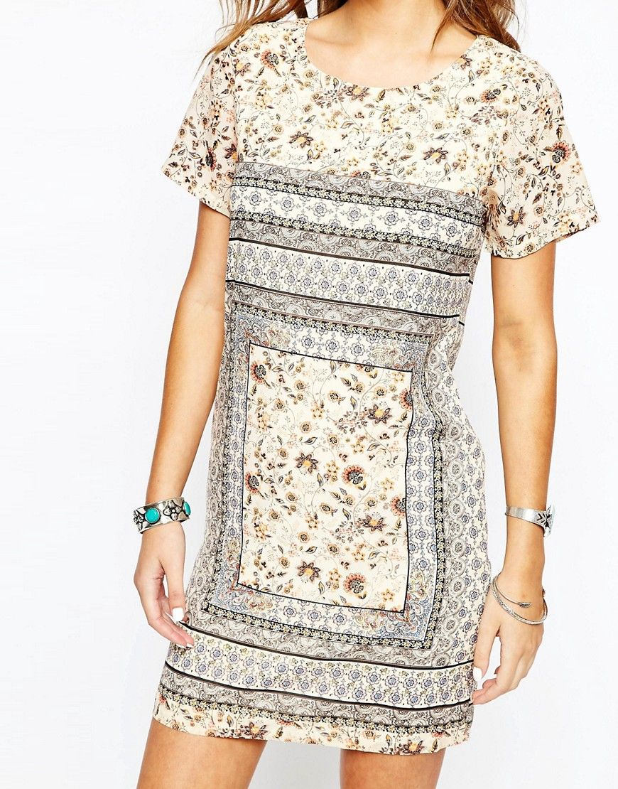 Image of new look s floral tunic dress summer pinterest